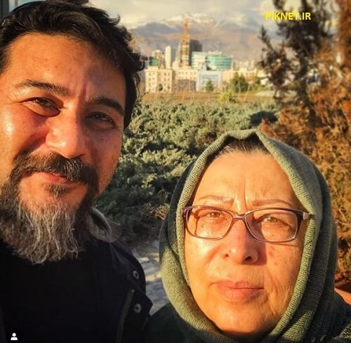 امیرحسین صدیق و مادرش