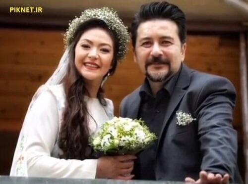 امیرحسین صدیق و همسرش