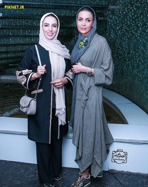 سامیه لک به همراه سوگل طهماسبی