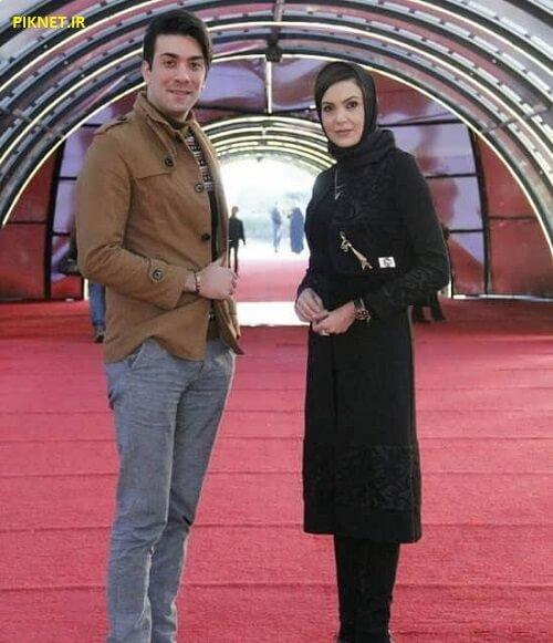 سامیه لک و همسرش