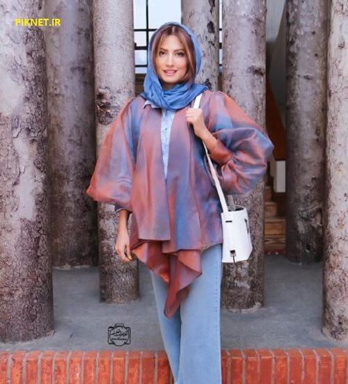 سمیرا حسینی بازیگر نقش نیلوفر در سریال ترور خاموش