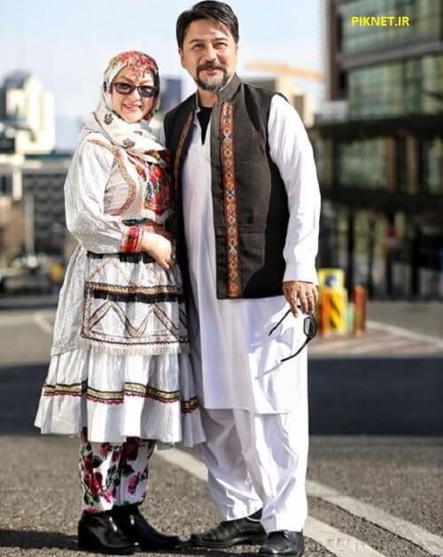 عکس امیرحسین صدیق و همسرش