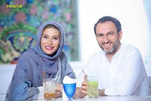 فریبا نادری و همسر دومش
