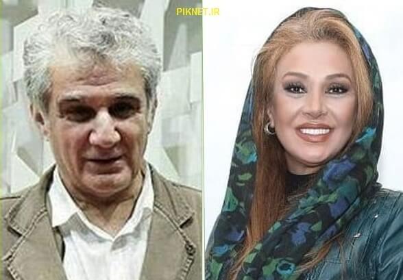 مهدی هاشمی و نسرین مقانلو در سریال کامیون