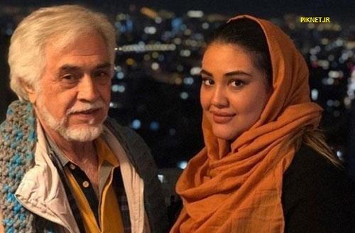 همسر و دختر اکرم محمدی