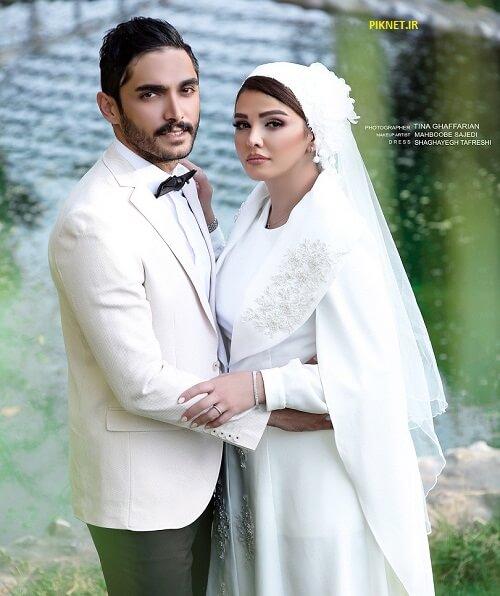 عکس عروسی سیما خضرآبادی