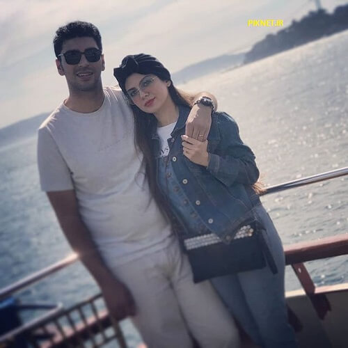 آیدا نامجو و همسرش