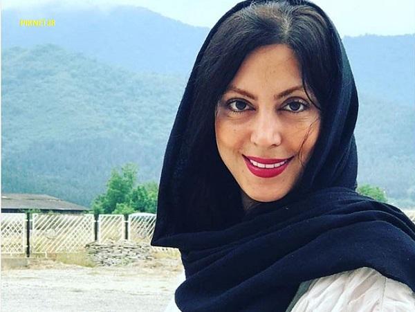 نیلوفر شهیدی بازیگر سریال گاندو ازدواج کرد+ تصاویر نیلوفر شهیدی و همسرش