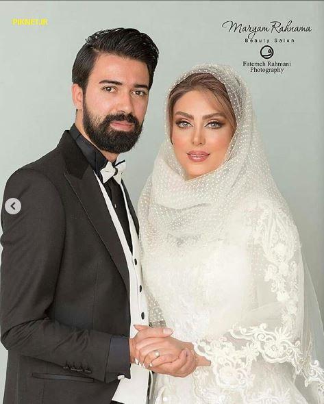 تصاویر نیلوفر شهیدی و همسرش