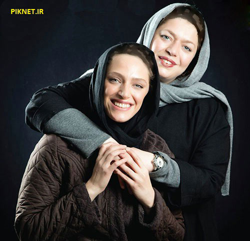 نگین معتضدی و خواهرش طلا