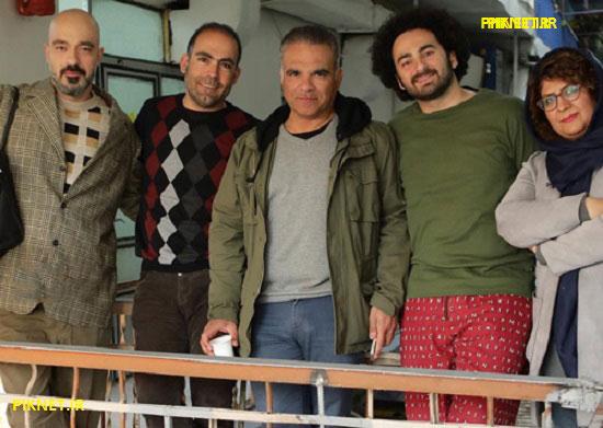 سامان دارابی در سریال زیر همکف