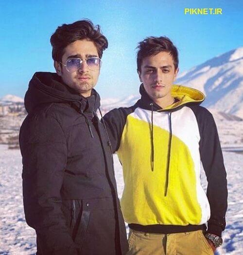 عکس های علی عمادی نیا بازیگر نقش یحیی در سریال بانوی عمارت کنار مادرش