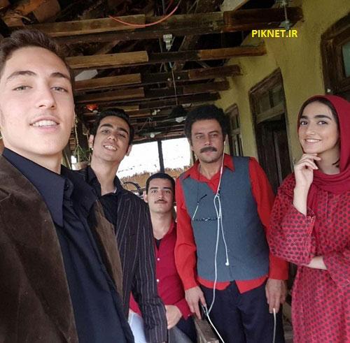 میلاد حسین پور در سریال وارش
