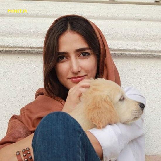 سارا احمدی بازیگر سریال وارش