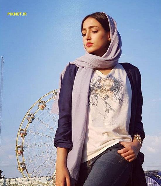 سارا احمدی بازیگر نقش شکوفه در سریال وارش