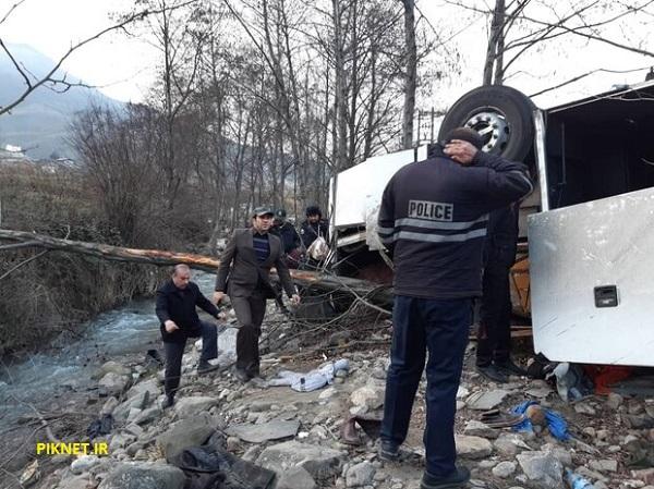 اسامی جان باختگان و مصدومان واژگونی اتوبوس تهران - گنبد
