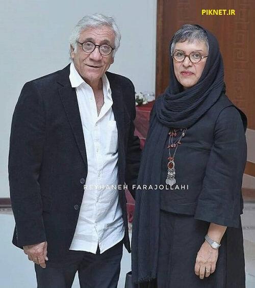 رویا تیموریان و مسعود رایگان بازیگر سریال هم گناه