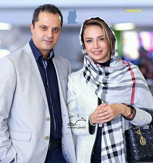 شبنم قلی خانی بازیگر سریال اولین شب آرامش