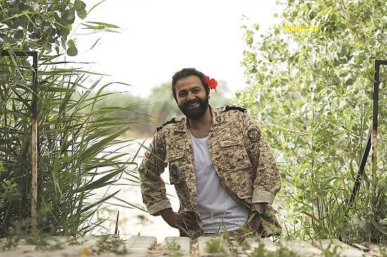 آرش مجیدی در سریال سرباز
