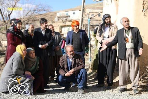 سیروس حسینی فر در سریال نون خ