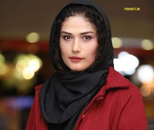 لادن مستوفی بازیگر سریال خانه ای در تاریکی