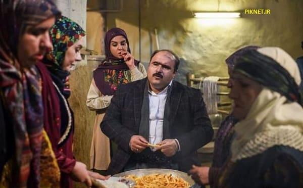 کاظم نوربخش در سریال نون خ