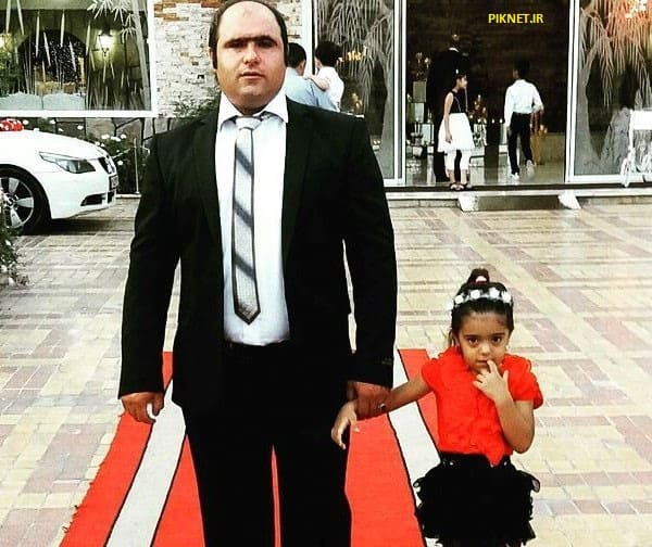 کاظم نوربخش و دخترش