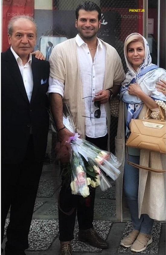 پدر و مادر روزبه حصاری بازیگر