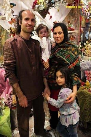عطیه معصومی و همسرش