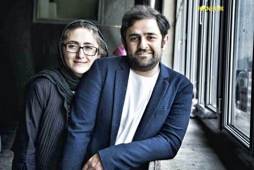 علی عامل هاشمی و همسرش پگاه ترکی