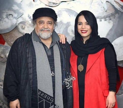 عکس محمدرضا و دخترش