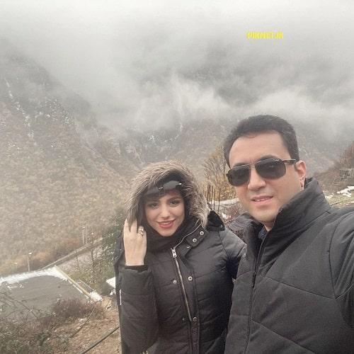 بیوگرافی محیا اسناوندی و همسرش + عکس های محیا اسناوندی مجری و بازیگر