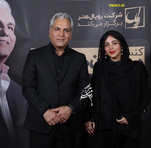 هنگامه حمیدزاده و مهران مدیری