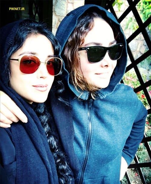 هنگامه حمیدزاده و آنا نعمتی