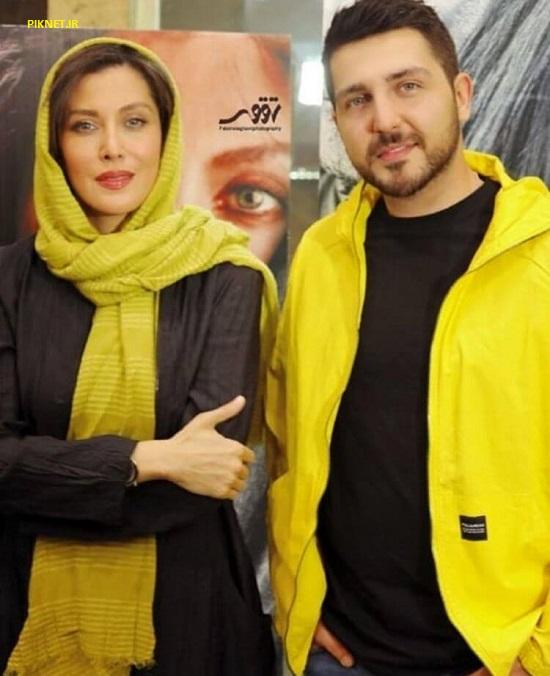 محمدرضا غفاری و مهتاب کرامتی