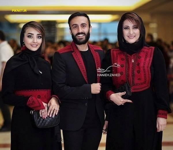 فاطمه گودرزی بازیگر سریال پای بست