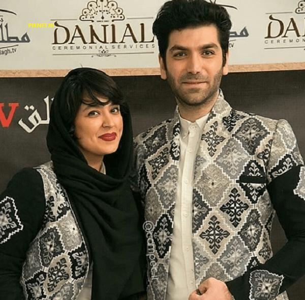 عکس و بیوگرافی فریبا طالبی بازیگر و همسرش امیر صدهزار