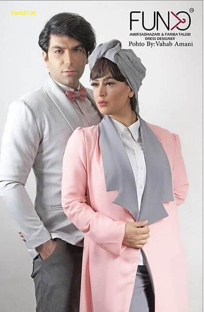 عکس و بیوگرافی فریبا طالبی بازیگر و همسرش امیر صدهزاری | پیک نت