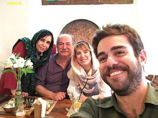 عکس خانواده ستاره پسیانی