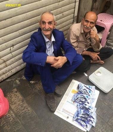 ماجرای دستفروشی احمد پورمخبر