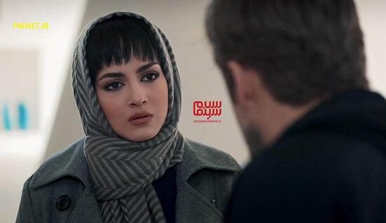 پردیس پورعابدینی در سریال آقازاده