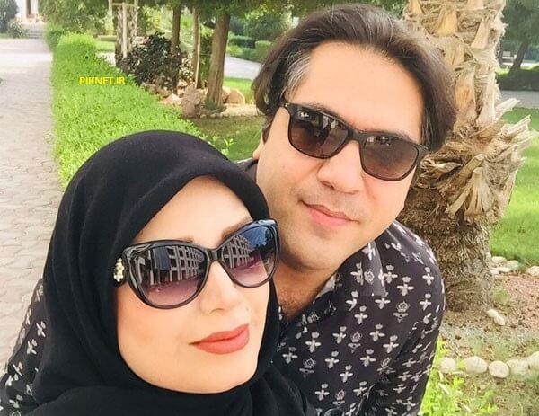 سلفی زیبای صبا راد و همسرش مانی رهنما