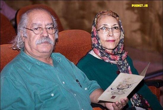 بهزاد فراهانی و همسرش