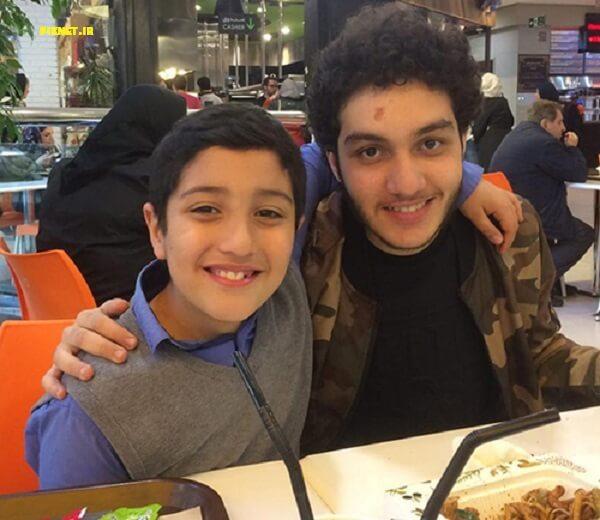 ماکان و آهیل دو پسر مرجان شیرمحمدی