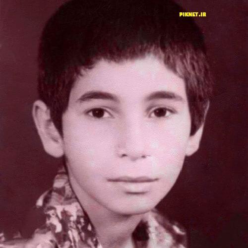 عکسی از دوران کودکی حمید فرخ نژاد