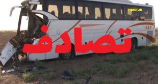 جزئیات تصادف مرگبار اتوبوس با تریلی در محور اهواز - آبادان