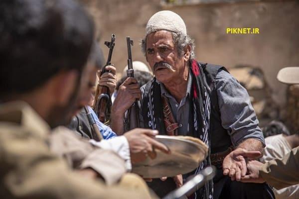 مجید مظفری بازیگر نقش صالح خان در سریال ایل دا