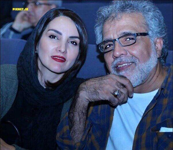 مرجان شیرمحمدی و همسرش