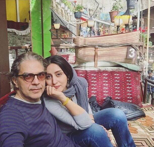 مهدی احمدی و همسرش پرستو رجایی