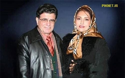 محمدرضا شجریان و همسرش کتایون خوانساری